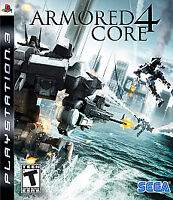 Armored Core 4 (Sony PlayStation 3, 2007) *Complete/Tested