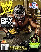 WWE MAGAZINE AUGUST 2007 WRESTLING REY MYSTERIO JEFF HARDY MARIA CM PUNK WWF