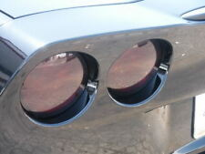 05-13 Corvette C6 smoked overlay kit tinted vinyl tint tail lights (9 piece kit)