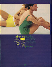 PUBLICITE ADVERTISING 094 1967 PRISUNIC maillots de bain