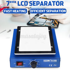7 '' LCD Screen Separator Glass Removal Phone Heating Platform Repair Machine