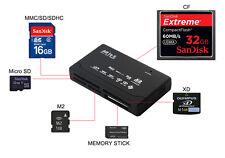 15 in 1 USB 2.0 Kartenlesegerät Speicherkarten Card Reader für CF/SD/xD/MS/SDHC