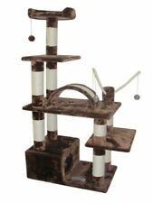 "THE ""CHARLOTTE"" 60"" TALL CAT TREE - FREE SHIPPING IN THE UNITED STATES"