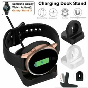 Charger Holder Rubber Dock Stand Station for Samsung Galaxy Active 2 Smart Watch