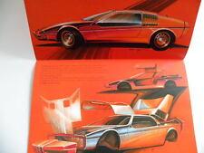 Rare brochure BMW turbo de 09 / 1972