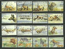 ANGOLA 961A-P MNH WILD ANIMALS SCV 9.00