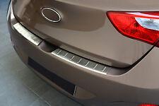 Ladekantenschutz für Hyundai I30 2012-2016 mit Abkantung Edelstahl