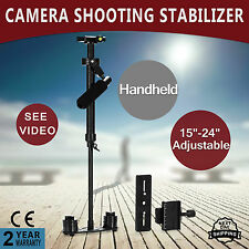 Aluminum S60 Handheld Gimbal Stabilizer Steadicam For Camcorder DSLR DV Camera