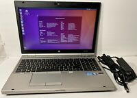 HP EliteBook 8560P i7-2620M CPU 8 GB RAM 250 GB 15.6'' HDD Ubuntu 16.04 NoteBook