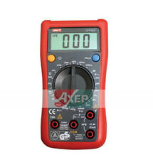 Palm Size Digital Multimeter UT132D Uni-T 600V 10A 20MΩ 200μF -40~1000°C