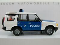 "Busch 51917 Land Rover Discovery (1998) ""Polizei Thüringen"" 1:87/H0 NEU/OVP"