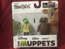 Disney The Muppets Minimates S2 Reporter Kermit Rowlf Dog Diamond Show Figures