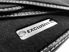 Fußmatten für Mercedes MP4 Actros Velours 3x Metall Logo 2500mm Breite