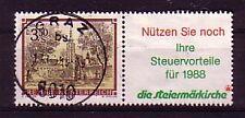 Austria marchio con 'appendice' timbrato andate (interno: 23)