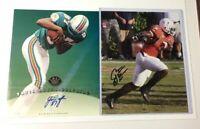 Miami Hurricanes JON BEASON & YATIL GREEN Autographed 8x10 Photo RC Lot!