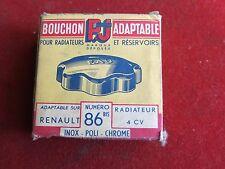 Renault 4CV Petrol Cap & Radiator Cap - 86