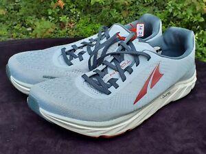 Altra Footwear Men's sz 12.5 Torin 4.5 Plush Running Shoes - Light Gray/Red