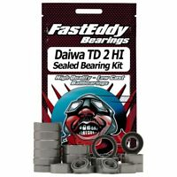 Daiwa TD 2 HI Baitcaster Complete Fishing Reel Rubber Sealed Bearing Kit