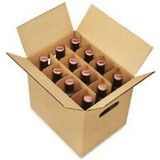 Beer/Half-Wine Carrier Box - 12 Bottle Pack  Lot of 120 pcs