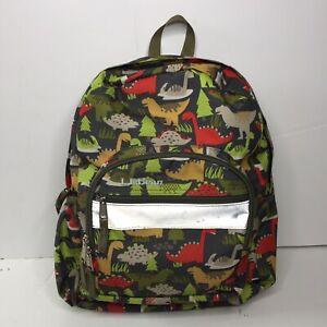 Dino-Dark Blue Cute Kids Backpack for Little Boys Dinosaur Toddler School Bags Small Children Travel Bag for Preschool Kindergarten Sized 1-5 Years