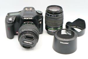 PENTAX Pentax K200D 10.2MP Digital SLR Camera - Black