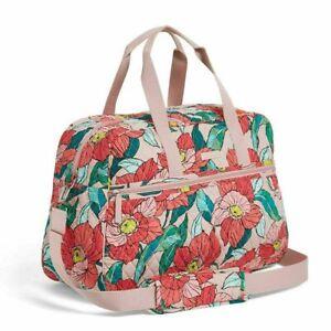 """NWT Vera Bradley Weekender Grand Traveler XL Bag Vintage Floral  21""""x14""""  $138"""