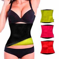 Damen Körper Bauch Trimmer Schlank Taille Neopren Gürtel Korsett Bodyshaper GS