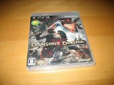 Dragon's Dogma Capcom Playstation 3 PS3 Japanese Complete