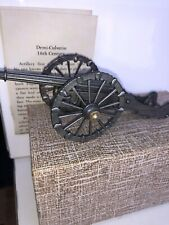 Demi-Culverin 17th Century Artillery 54mm  Devereux Pewter Mint In  Box