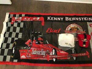 Kenny Bernstein Signed NHRA Licensed Combo NEW