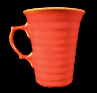 VINTAGE GARDEN CITY ORANGE CALIFORNIA POTTERY RING RINGWARE HANDLED MUG CUP