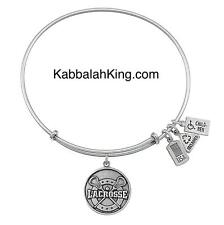 Wind & Fire Lacrosse Sport Charm Silver Expandable Bangle Bracelet Made In USA