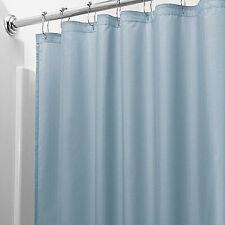Mildew Resistant Heavyweight Vinyl Shower Curtain Liner W/Magnets Metal Grommets