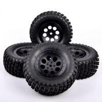 4X RC 1:10 Short Course Truck 12mm Hex Tires&Wheel 107mm For TRAXXAS SlASH Car