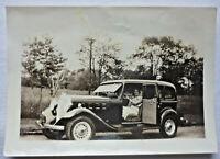 FOTO vor 1945 USA Philadelphia Oldtimer ca. 8,8 x 6,3 cm