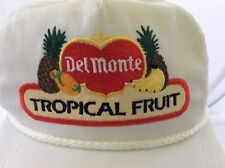 Vintage Delmonte Tropical Fruit Golf Hat K Products Great Colors Box 2