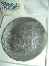 Wendell August Forge Wildlife Deer Dish w Box