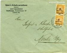 Lettera Società MEF inaspri Spier S calzature casa Heilbronn a Seifert & Kloeber 1923