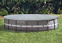 Intex Telo Copertura Piscina Rotonda Frame Deluxe 549 Cm Estate Inverno