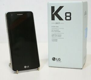 Silver LG K8 (2017) 16GB Tesco Mobile Phone With Original Box - 232