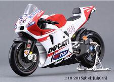 1:18 Moto GP Race Bikes #04 Andrea Dovizioso Diecast Motorcycle MAISTO DUCATI