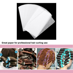 120pcs/box Salon Home Rectangle Shape Water Dryer Thickened Perm Hair Paper