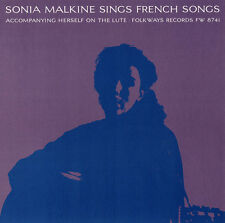 Sonja Malkine - Sonia Malkine Sings French Folk Songs [New CD]