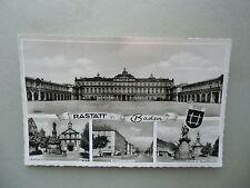 Ansichtskarte Rastatt Baden Rathaus Bahnhofstraße