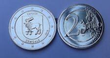 2 Euro Gedenkmünze LETTLAND LATVIA 2018 ZEMGALE  Unz.