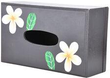 Cute vintage Frangipani 50s Wood tissue kosmetiktücherbox rockabilly