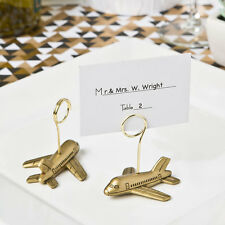 36 airplane travel theme place card holders bridal shower wedding favors