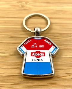 Mathieu van der Poel Alpecin Fenix 2021 Strade Bianche Cycling Jersey Keyring