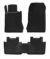 MERCEDES W210 E-CLASS 1995-2003 Rubber Car Floor Mats All Weather Alfombras 2WD