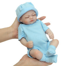 "11"" Handmade Reborn Girl Real Looking Newborn Baby Vinyl Silicone Realistic"